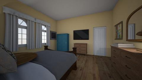 Lee - Bedroom  - by kara_is_designing