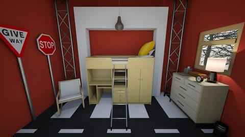 Car Theme Kids Room - Kids room  - by Merdog