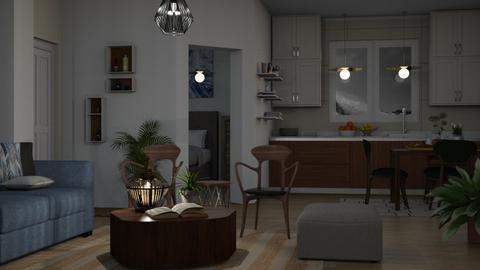 Getting Dark - Rustic - Living room - by millerfam