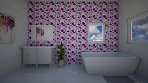Lavender Bath - Bathroom - by Design3690