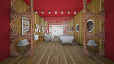 bath - Modern - Bathroom  - by kanatsizmelek