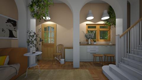 Sweet plant room - by Celia Schrag