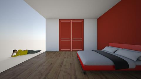 5 min challenge boys room - Bedroom - by Ellzbee