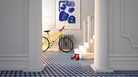 hallway - by annamarina