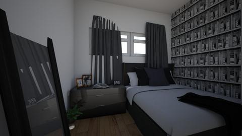 Soverom leilighet - Bedroom - by iselinlarsen