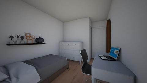 rooooom  - Minimal - Bedroom - by pollywogg18