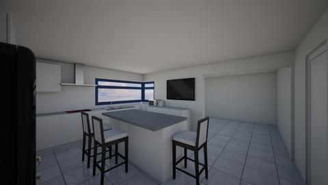 KitchenGray - Kitchen  - by lattys00