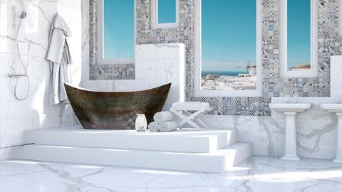 Grecian Bath - Bathroom  - by millerfam