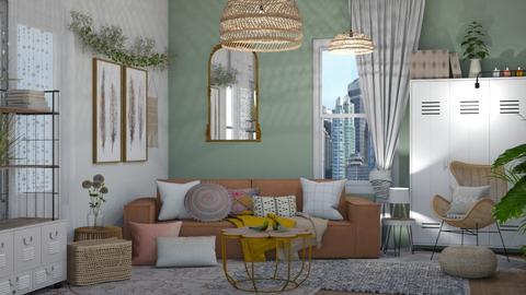 Boho Bailey 2 - Modern - Bedroom  - by NEVERQUITDESIGNIT
