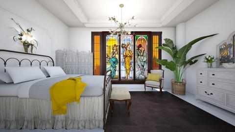 ART NOVEAU - Bedroom  - by rasty