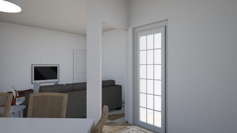 ptojeto 1 - Living room  - by julibarja