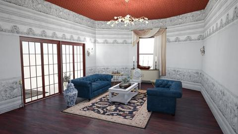 American Colonial  - Classic - Living room  - by rcrites457