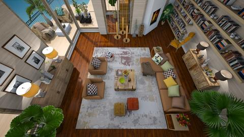 Rust - Modern - Living room  - by janip