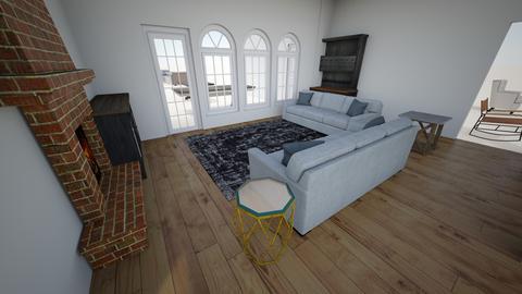 final - Living room  - by trinasandberg