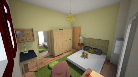Muj pokoj - Kids room - by couhy26