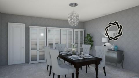 cheryl house - Modern - Dining room  - by Mi Wei