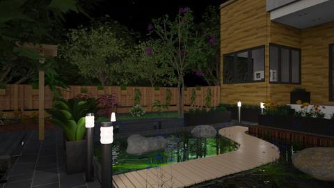 night garden - Garden - by laughterlines