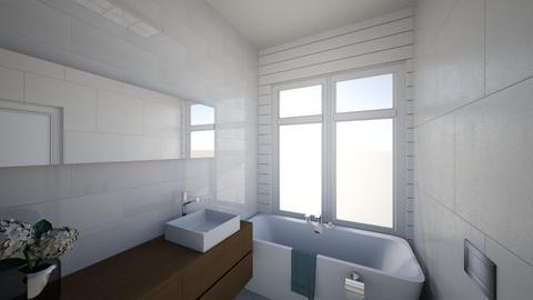 bathroom winshel - Retro - Bathroom  - by shayish