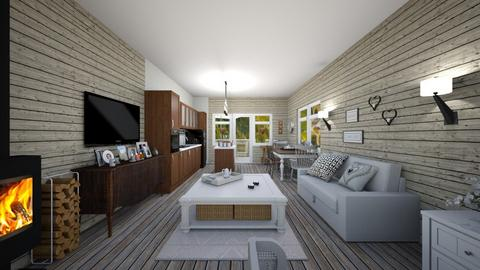 Honey - Living room  - by Ferplace