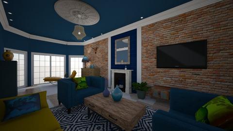 Looe House lounge 1 - Living room - by Lisett