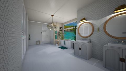 beach bathroom - Bathroom  - by Zoe Bailey