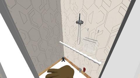 SpidermanVenomCopy - Bathroom - by andresh4u2