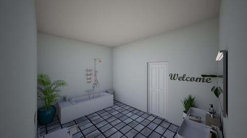 spanish dream room - Bathroom - by spanishisgreat124