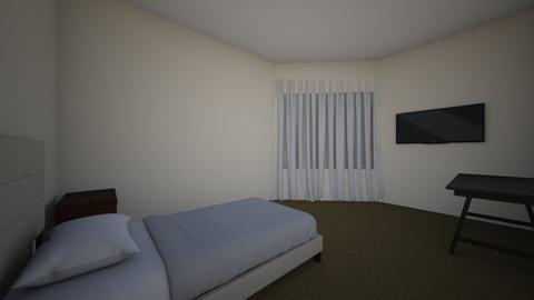 pieza cata - Bedroom  - by Victoria Maluenda