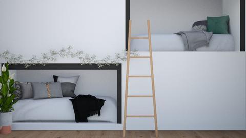 Fun BUNKS - Bedroom  - by LilLil