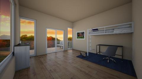 1st contest entry - Bedroom  - by sashamomo