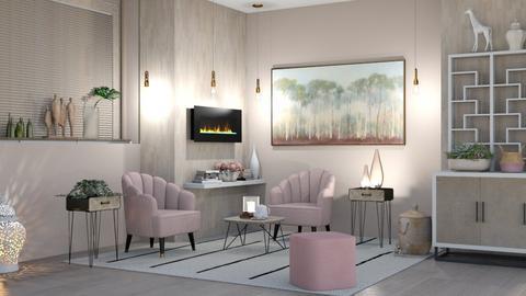 M_Favorite الزاوية - Modern - Living room  - by wed_a_47