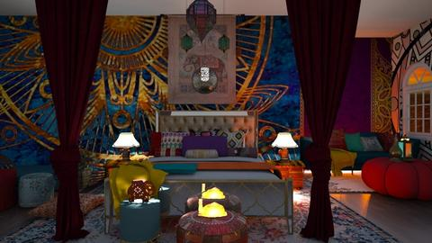 Essence of India Retry - Bedroom  - by Feeny