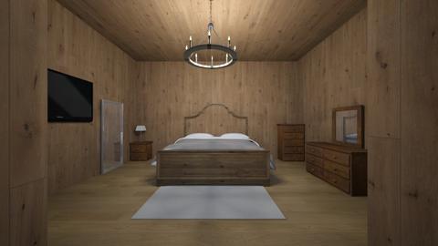 cozy wooden cabin - Bedroom  - by khriissss_