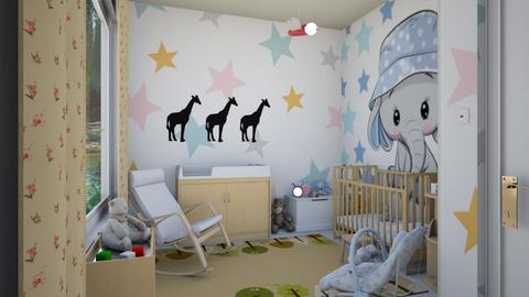 Surprise baby nursery - by ilcsi1860