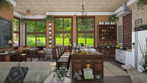 Design 68 Family Kitchen - Kitchen - by Daisy320