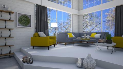 modern banana - Modern - Living room  - by megalia42