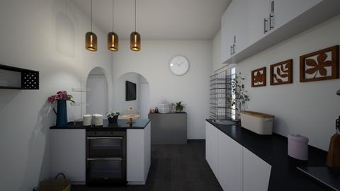 KitchenViewFull2 - Kitchen  - by Kat998