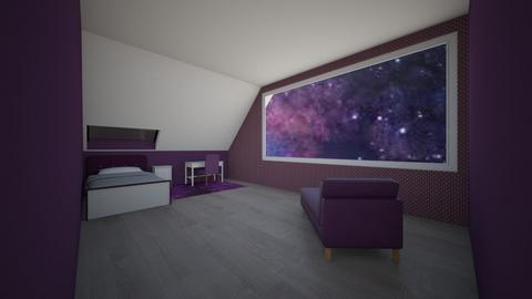 Star bed - Bedroom  - by ArtsyGirl4Eva