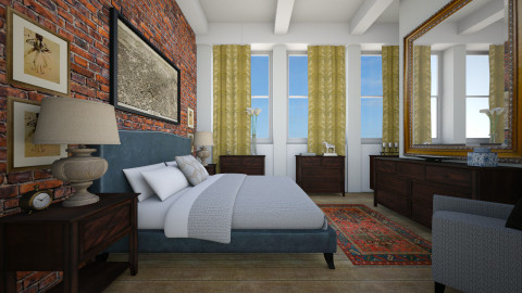 404 Park Ave. South 15B - Bedroom - by murphystaging