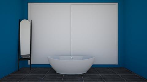 Nautical themed bathroom - Bathroom  - by Mila dimitrova