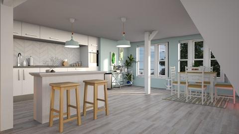 Coastal - Kitchen - by chicki3812