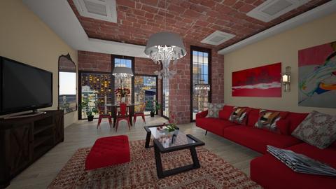 Rr - Modern - Living room - by Saj Trinaest
