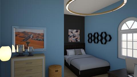 Bedroom - Modern - Bedroom - by ImNotGay_IPromise