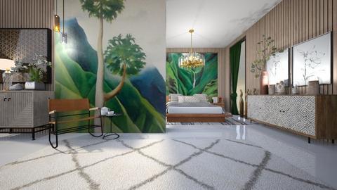 paisaje - Bedroom - by ana111
