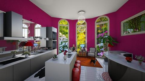 Eclectic kitchen - Kitchen - by ashpashly