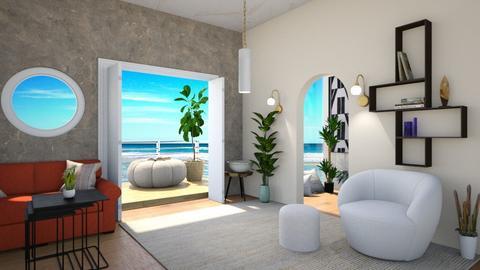 Open doors - Living room  - by Meghan White