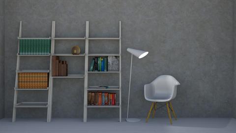 simple - Modern - Office  - by Thepanneledroom