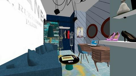 eclectic office - Office - by NWD