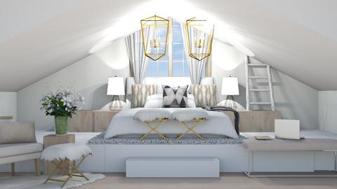 Attic Bedroom IRR_CO - Bedroom  - by IcyRosyRake2