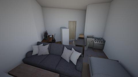 Jims Emilsborg - Minimal - Bedroom - by Potatisbullen